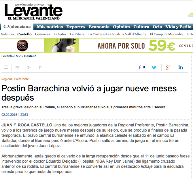 Levante Postin Barrachina 02-02-16