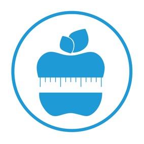 icono nutrición dietética delgadotrauma