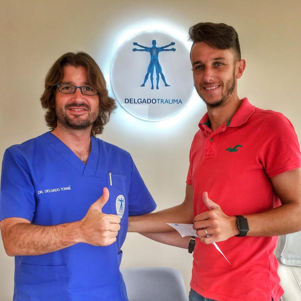 Rubén Fonte alta médica 27-07-16