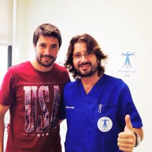 Visita de Alex Felip al Dr. Delgado
